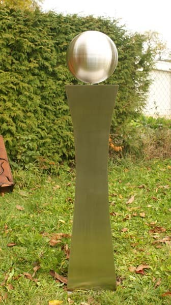 gartendeko edelstahlsäulen oder gartenskulpturen in handarbeit, Garten und erstellen