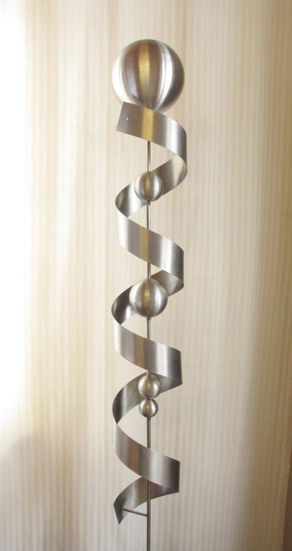 Gartendeko shop edelstahl skulptur susi 100 edelstahl for Dekostab garten