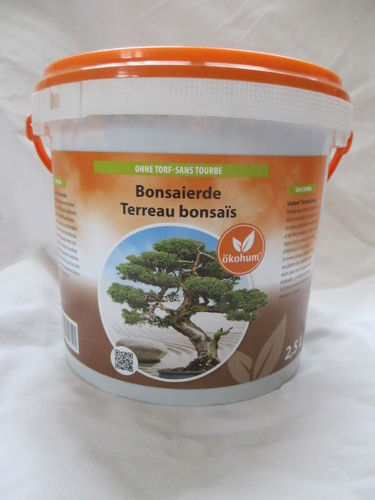 Bonsaierde  Erde Bonsai 2,5 Liter