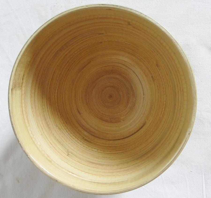 Gartendeko Shop Bambus Schussel Schale Bambusschale Deko